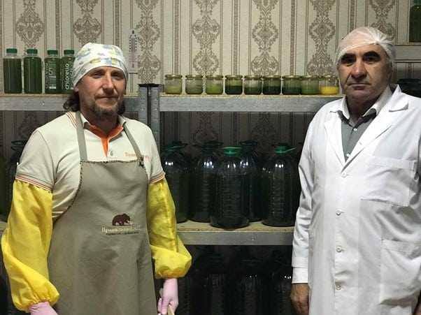 Volodymyr and Samvel